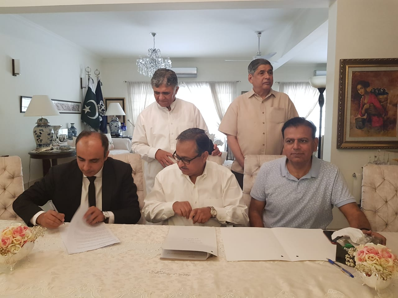 Moawin Foundation and Read Pakistan singed MOU