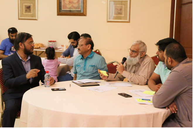 Al Khobar: Read Talk by KSA Chapter on dated 22nd April 2017