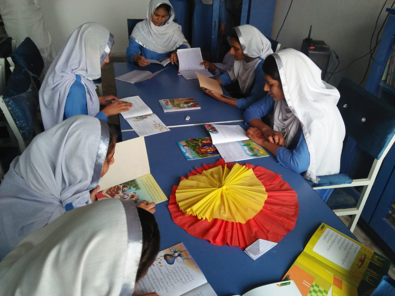 Nahid Sabir Libraries in Schools of Moawin Foundation